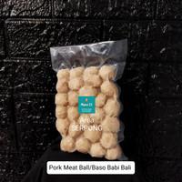 Pork Meat Ball/Baso Babi Bali 500gr(Gojek/Grab/Next Day)