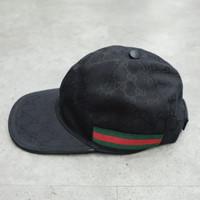 G u c c i Web Stripe GG-logo Baseball Cap 100% Authentic - M