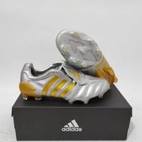 Sepatu Bola Adidas Predator Mania 20 Remake Silver Gold