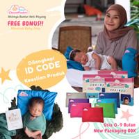 Bantal Baby CloudFoam Bantal Anti Peyang Ori 100% - Free Bonus Spesial