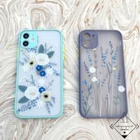 Vintage Flower Case Iphone 6 6s 7 8 SE PLUS X XS XR 11 PRO MAX Doff