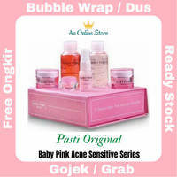 Baby Pink Acne Sensitive Series Skin care Bpom 100% halal