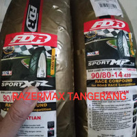 Ready Stock Ban Fdr Soft Compound Mp 76 Sport Xr 90/80-14 For Matic