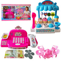 Mainan Anak Kasir Kasiran Ice Cream Li3 Mainan Kasir Besar