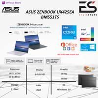 Asus Zenbook UX425EA i5 1135G7 8GB 512GB IrisXe 80EU Win10+OHS 2019