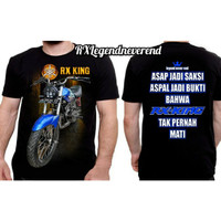 kaos rx king 135cc COWO