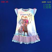 (DB2-2R) Daster Anak Frozen II Beautiful Dream U 2-5 Tahun