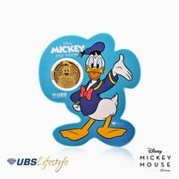 UBS ANGPAO 24K DISNEY DONALD DUCK 0.1 GR