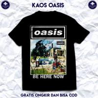 Kaos Band Rock Oasis. T Shirt Band Rock Oasis Original. Baju Distro.