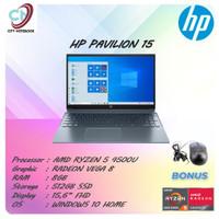HP Pavilion 15 Ryzen 5 8GB 512ssd Vega8 W10+Office