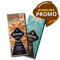 Bundling Promo Krakakoa Cokelat Arenga 45% & Flavor - Creamy Coffee