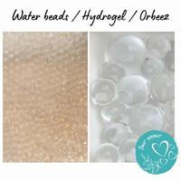 100 gr Water Beads / hydrogel / orbeez / waterbead / hidrogel - Bening