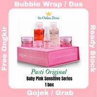 Baby Pink Whitening Sensitive Series Skincare Bpom 100% halal