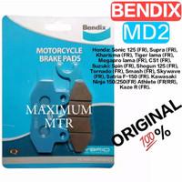 BENDIX MD2 ORI/DEPAN FU150,SUPRA X125,TIGER(OLD)/CERAMIC TECHNOLOGY