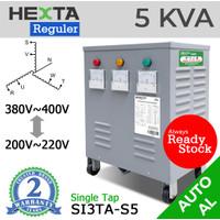 Trafo Listrik Step Up Down Hexta 5 KVA - AL - REGULER