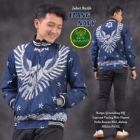 Jaket batik pria full furing bahan berkualitas ganteng gagah