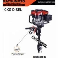 Mesin Tempel / Outboard Motor 7.5 HP Matsumoto MOB-880G MOB-880 G