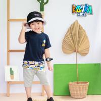 Baju Dan Celana Anak Cowo Model Baru Kualitas Super Kovka Flinstone - DUCK, 10
