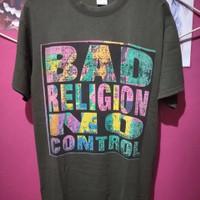 t-shirt BAD RELIGION no control
