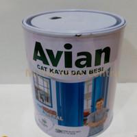 AVIAN-Cat Kayu Besi Avian Matt 1 Kg Hitam Doff / Black Dop (SBM