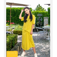 Mididress baju santai - Kuning