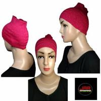 Ciput Rajut Bandana Hijab Inner Jilbab
