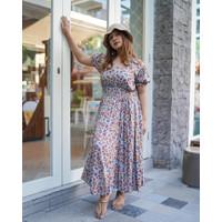 TI DRESS    MELODY COLLECTION    Casual Dress Wanita Dengan Karet