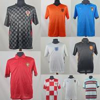 Jersey/Baju/Kaos Drifit Sepak Bola Internasional Piala Euro Cup Dewasa