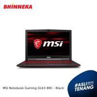 MSI Notebook Gaming GL63 8RC Intel Core i5 4GB/1TB Windows 10 Home ORI