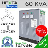 Trafo Listrik Step Up Down Hexta 60 KVA - AL - REGULER