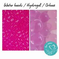 1 Kg Water Beads / hydrogel / orbeez / waterbead / hidrogel - Pink