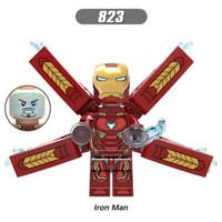 XH823 Iron Man Mark 50 Avengers Infinity War Tony Stark Brick X0187