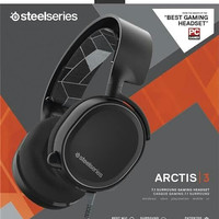 Steelseries Arctis 3 Gaming Headset with 7.1 Surround - Hitam