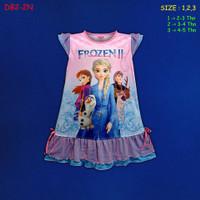 (DB2-2N) Daster Anak Frozen II Beautiful Dream U 2-5 Tahun
