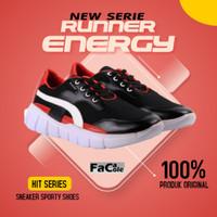 Sepatu Pria olah raga Lari sneakers Blucrat Hit Qualitas import