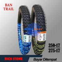 Ban Motor Bebek Trail Ring 17 Satu Set 250 dan 275 TT