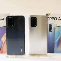 Oppo A74 6/128 5G NEW Garansi Resmi OPPO indonesia