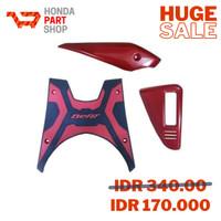Paket Aksesoris Resmi Honda BeAT eSP – Red/08000K25GRED