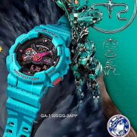 Jam tangan pria casio g shock ga 110 one piece dragon ball tiger