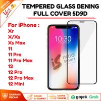 Tempered Glass IPHONE X XS MAX 11 Pro Anti Gores Kaca Full Lem 5D/9D