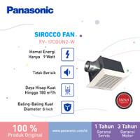 Panasonic Exhaust Fan Ceiling Plafon FV 17DUN (DIAMETER BALING 15CM)