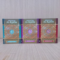 Alquran AlKarim Ukuran A5, Alquran Al-Karim Terjemah Latin