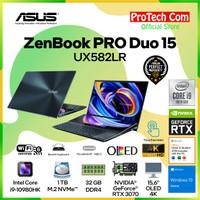 ASUS ZENBOOK PRO DUO UX582LR-OLED911 I9-10980HK 32GB 1TB RTX3070 8GB