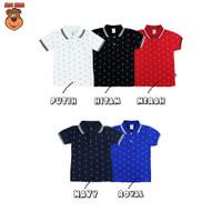 MacBear Kaos Anak Laki-laki Polo Albert Full Print Jangkar