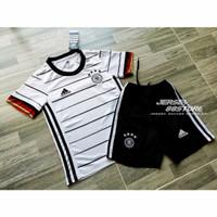 Jersey Baju Bola Grade Ori Setelan Anak / Kids Jerman Home 2020/21