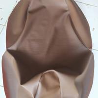 sarung jok, kulit jok motor orisinil honda scoopy warna coklat