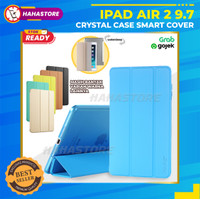 Apple iPad Air 2 2nd 9.7 9,7 Trifold Stand Flip Case Casing Bookcover - Putih