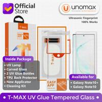 T-MAX TMAX Galaxy Note 10 Note10+ Plus UV FULL GLUE Tempered Glass