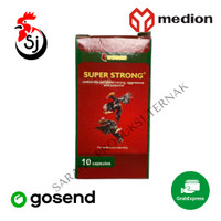 WINNER SUPER STRONG 10 KAPSUL PENAMBAH TENAGA AYAM LAGA ADUAN BANGKOK