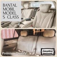 BANTAL MOBIL S CLASS | BANTAL MOBIL UNIVERSAL UNTUK SANDARAN KEPALA - Hitam